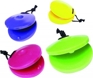 colorful castanets