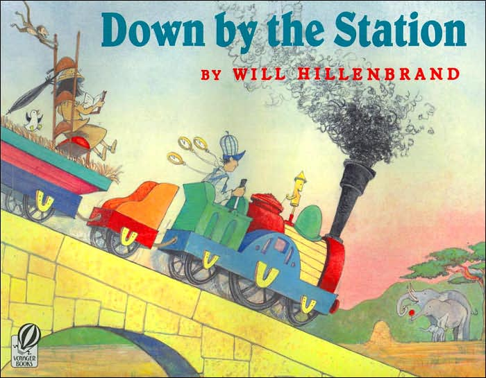 Down by the Station Children's Book