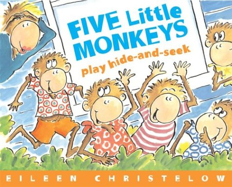 5 Little Monkeys Play Hide & Seek