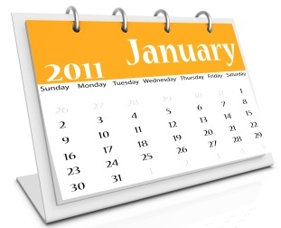 January Calendar Song
