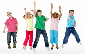 Jumping for Joy During Music Therapy