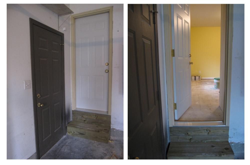 Garage - Studio Renovation Progress