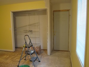 Studio Renovation Progress