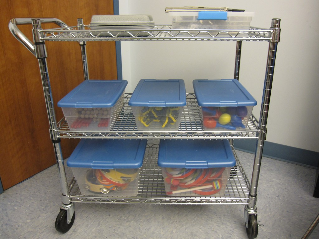 Music Therapy Cart