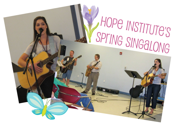Hope Institute Spring Singalong
