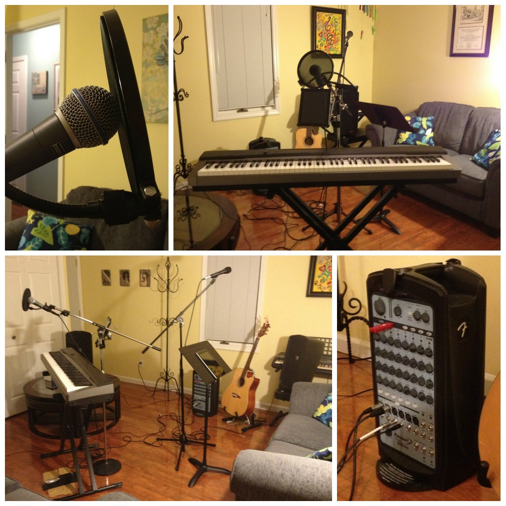 A Little DIY Recording Session