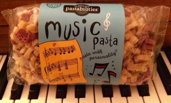 Friday Fave: Music Pasta