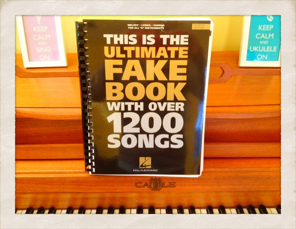 The Ultimate Fake Book with 1200 Songs