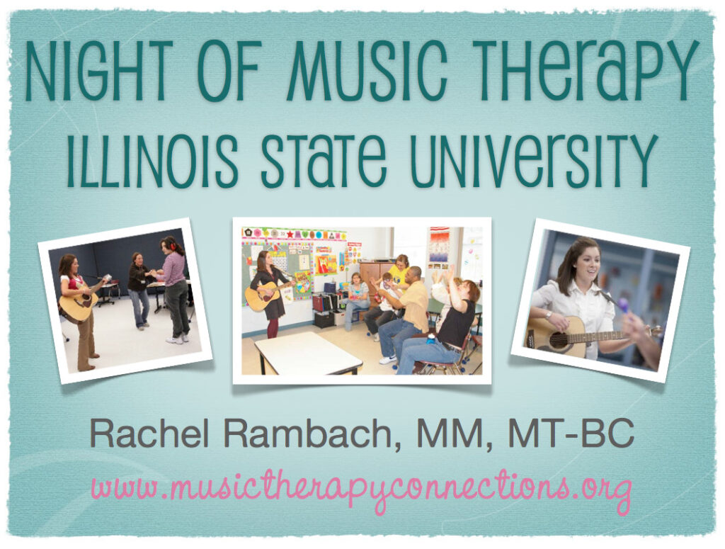 Friday Fave: Night of Music Therapy
