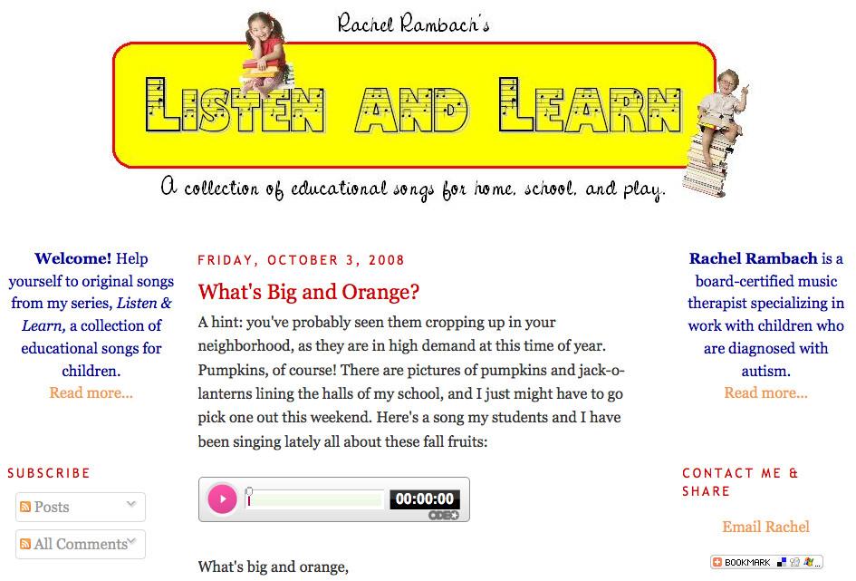 Listen & Learn in 2008