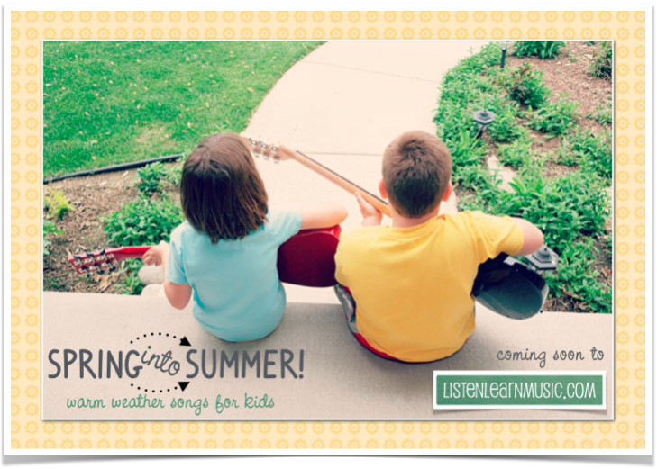 Spring Into Summer Songbook for Kids