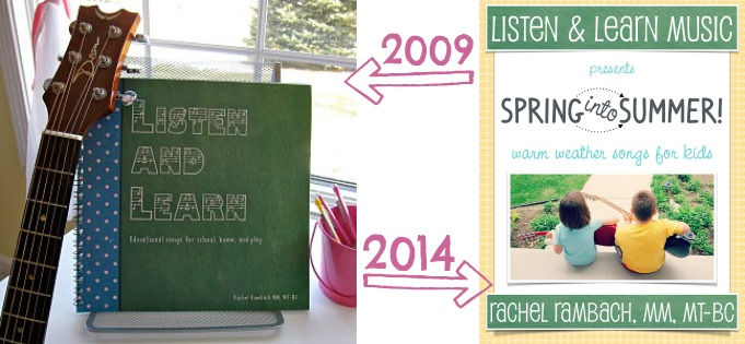 Evolution of the Listen & Learn Songbook