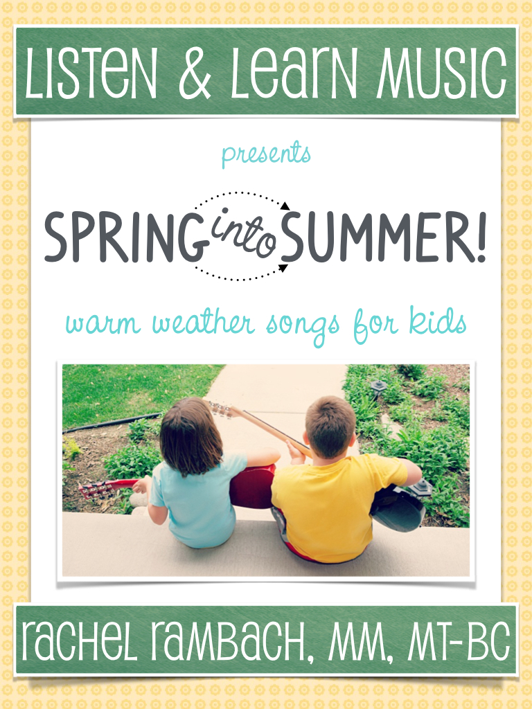 Spring Into Summer Songbook