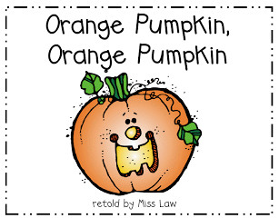 Orange Pumpkin Halloween Children's Song