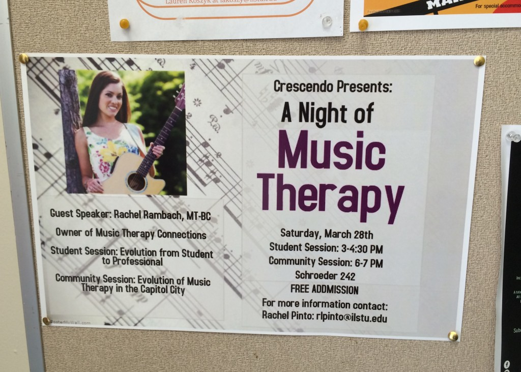 Night of Music Therapy Poster
