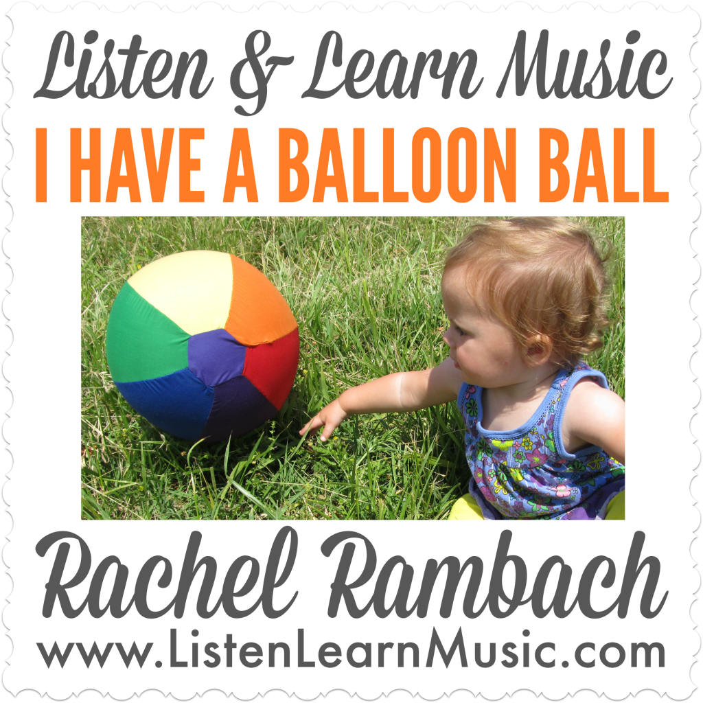 I Have a Balloon Ball Album Cover
