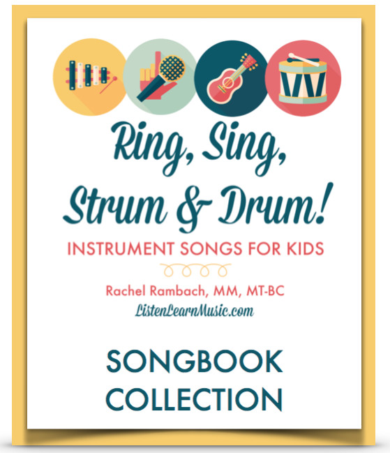 Ring, Sing, Strum & Drum Songbook Collection | Instrument Songs for Children