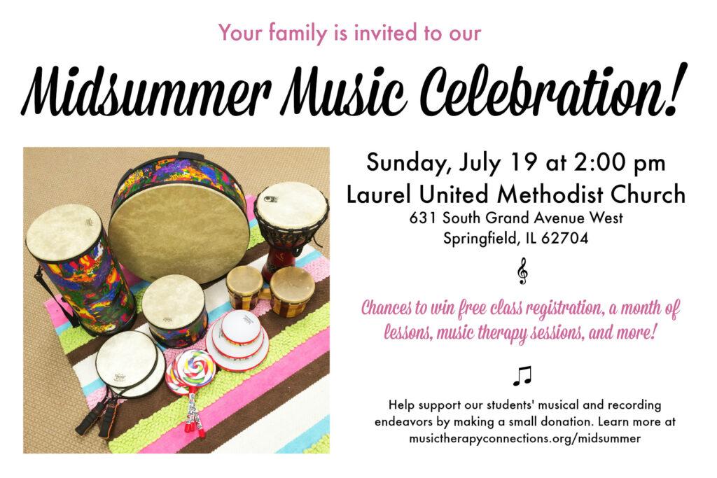 Midsummer Music Celebration Invite