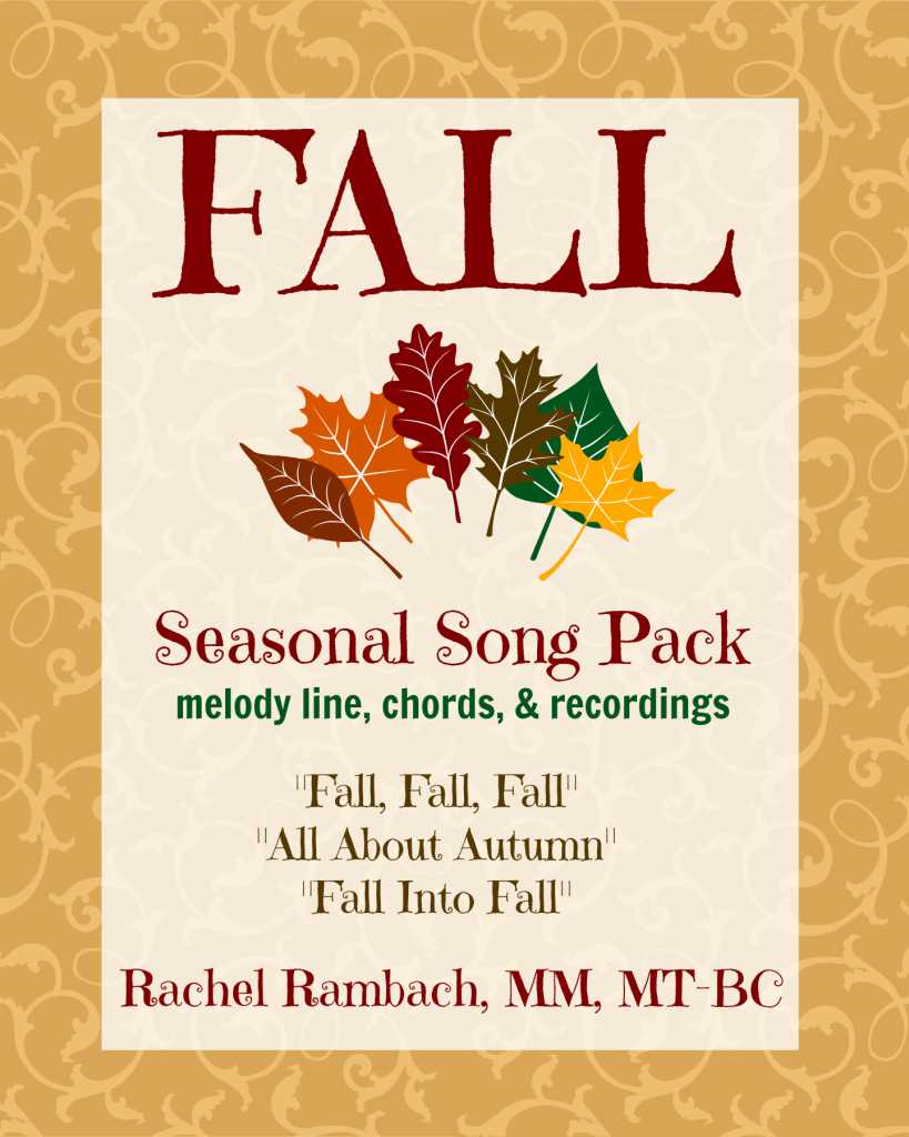 {Seasonal Song Pack} Fall!
