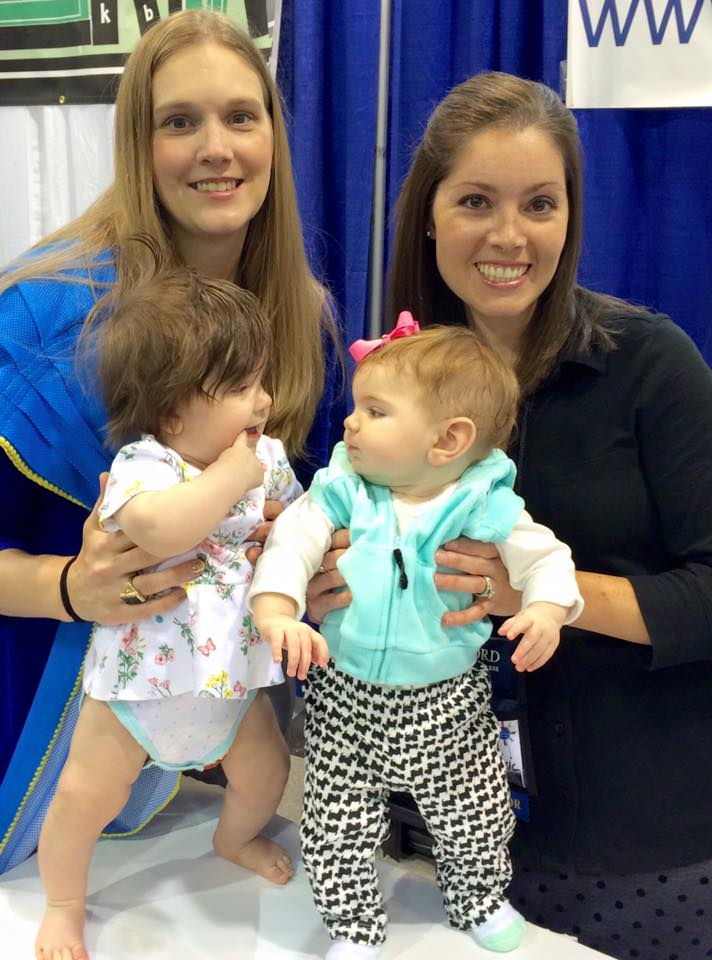 Babies at Music Therapy Conference