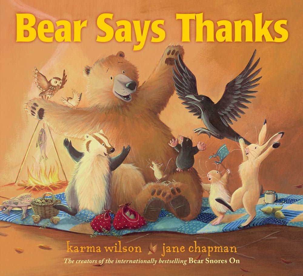 Bear Says Thanks Children's Book