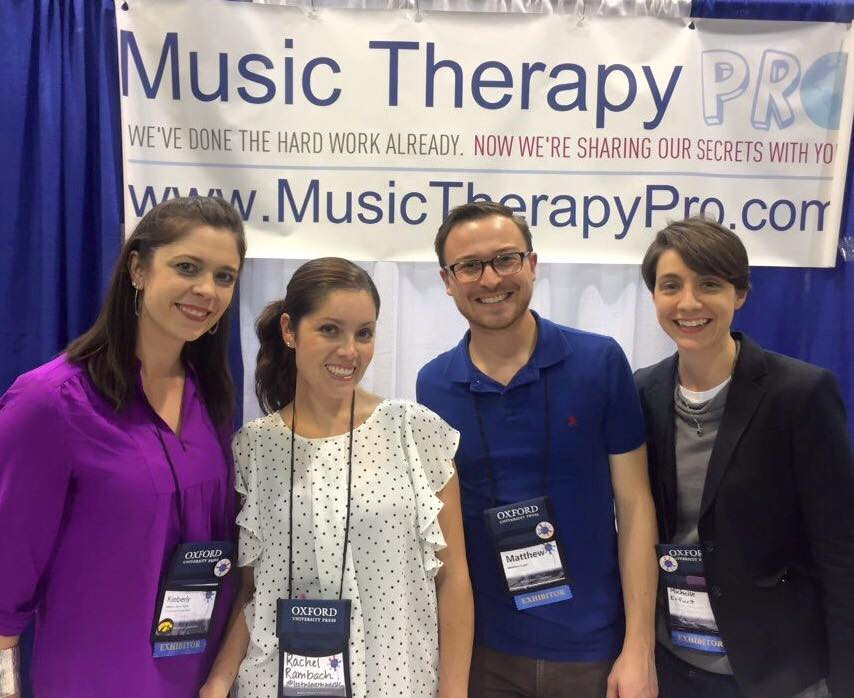 Music Therapy Round Table Booth at Conference