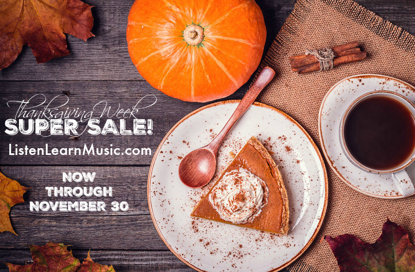 Thanksgiving Super Sale