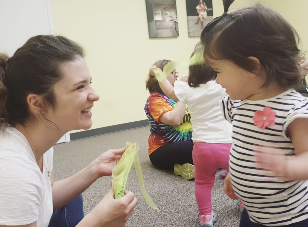 Making New Families Feel Welcome at Music Class