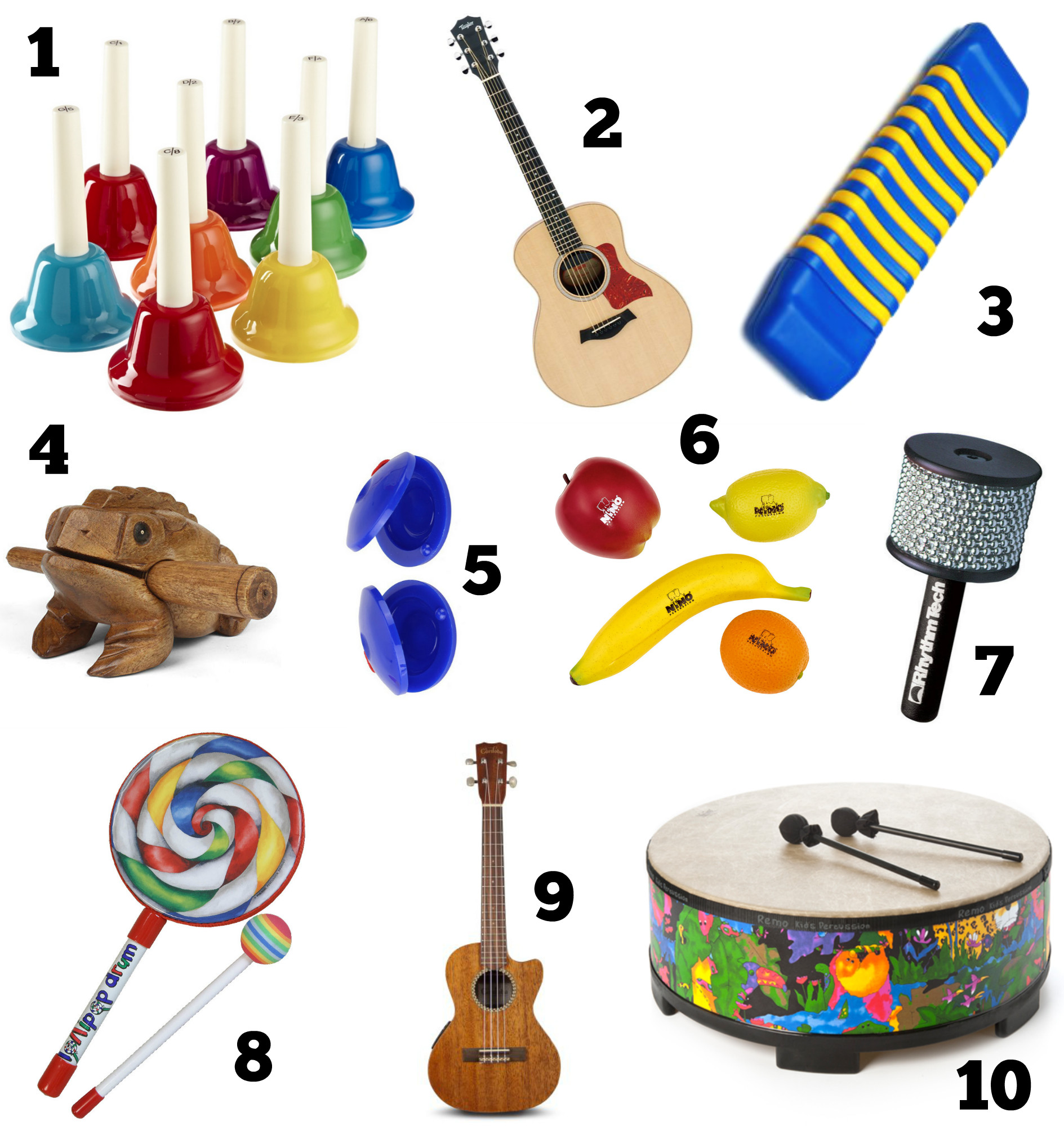 Top 10 Music Therapy Instruments