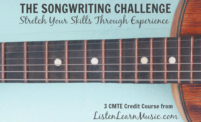 Take the Songwriting Challenge