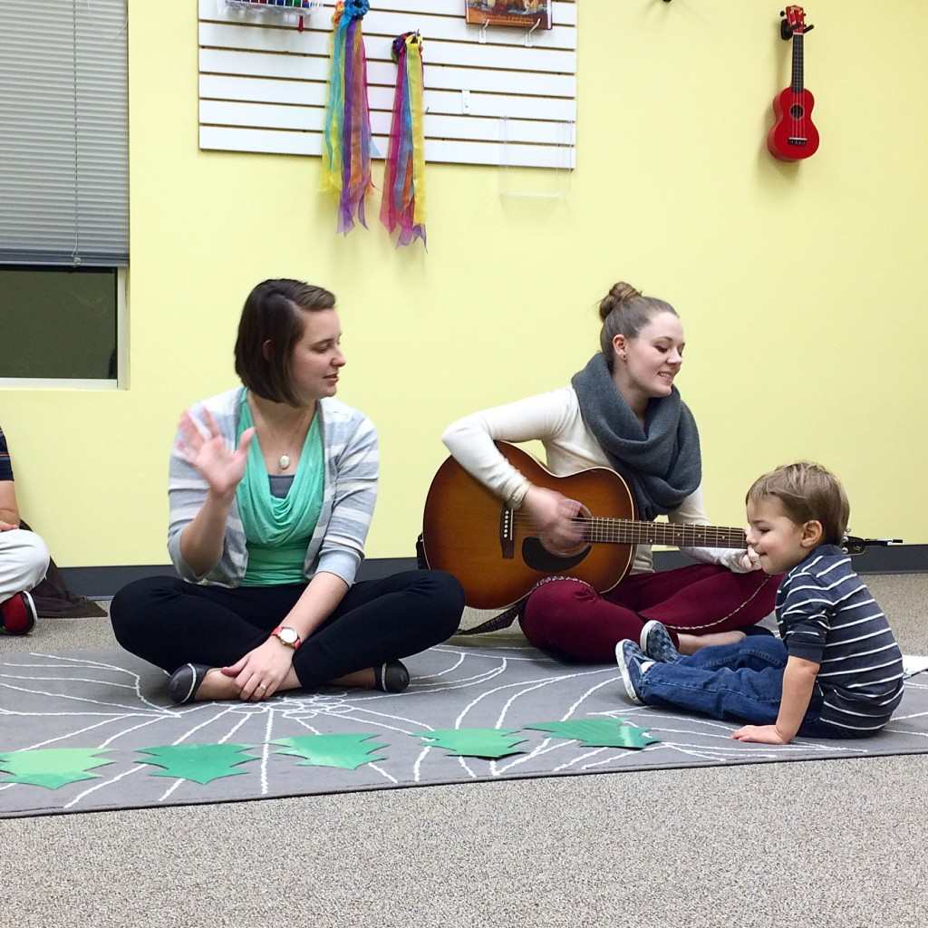 Counting trees during early childhood music class