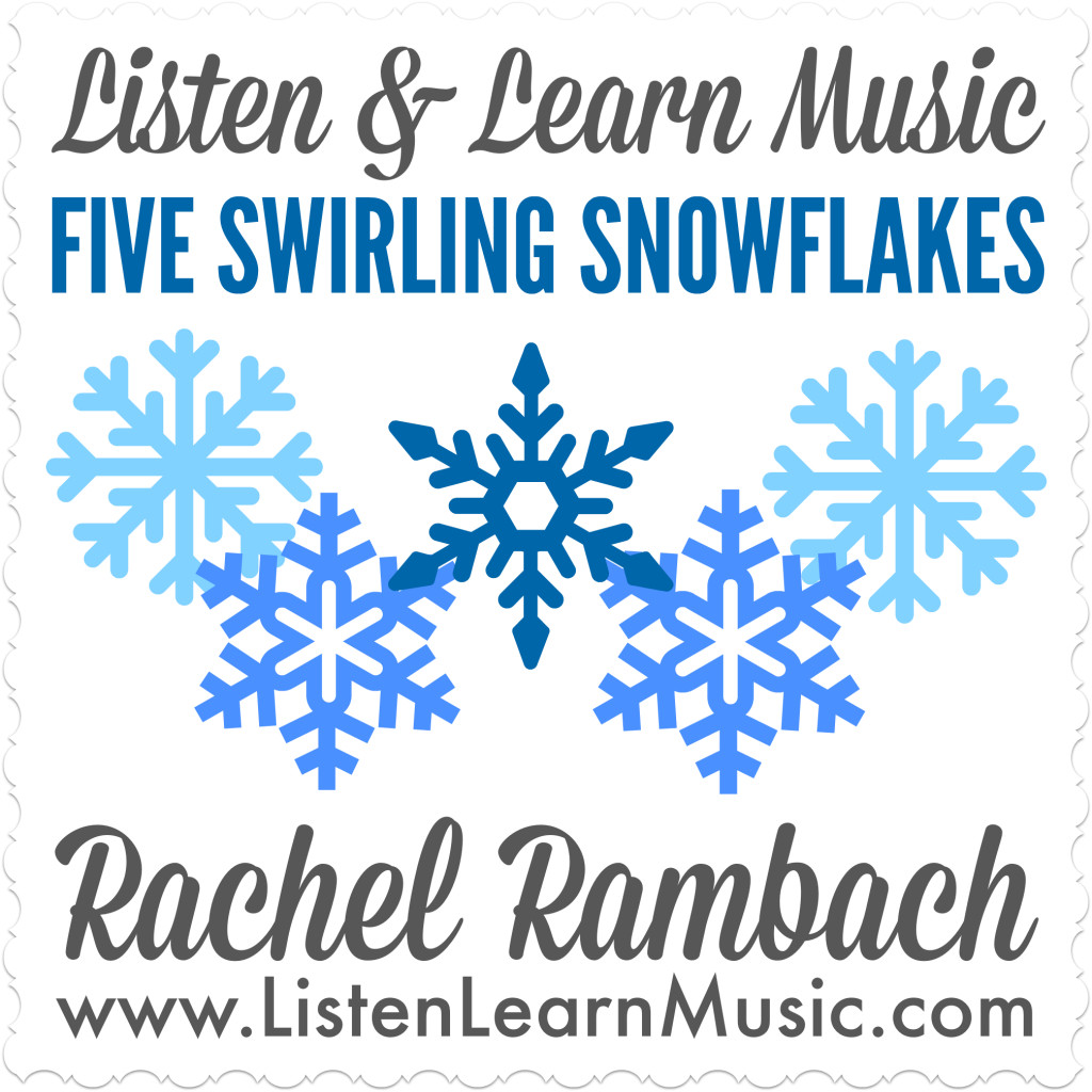 Five Swirling Snowflakes