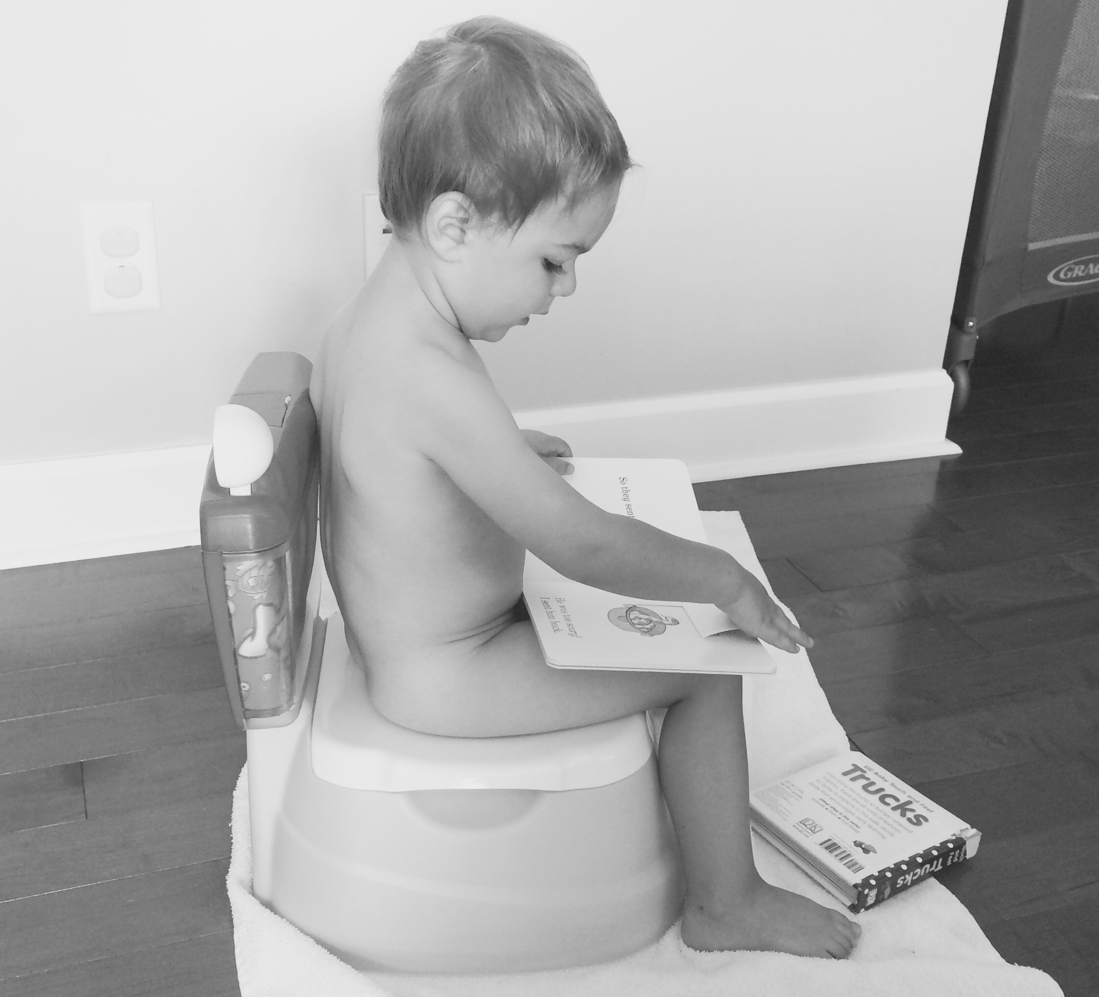 Potty Training a 2-Year-Old
