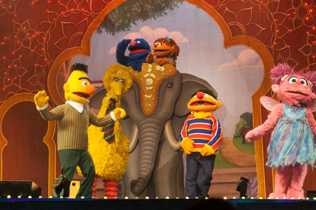 Parker at Sesame Street Live