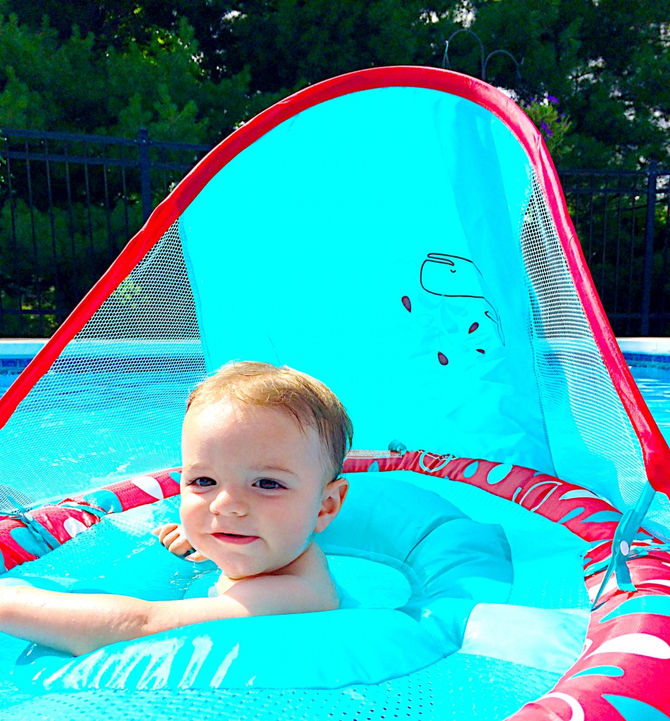 Parker in the Pool