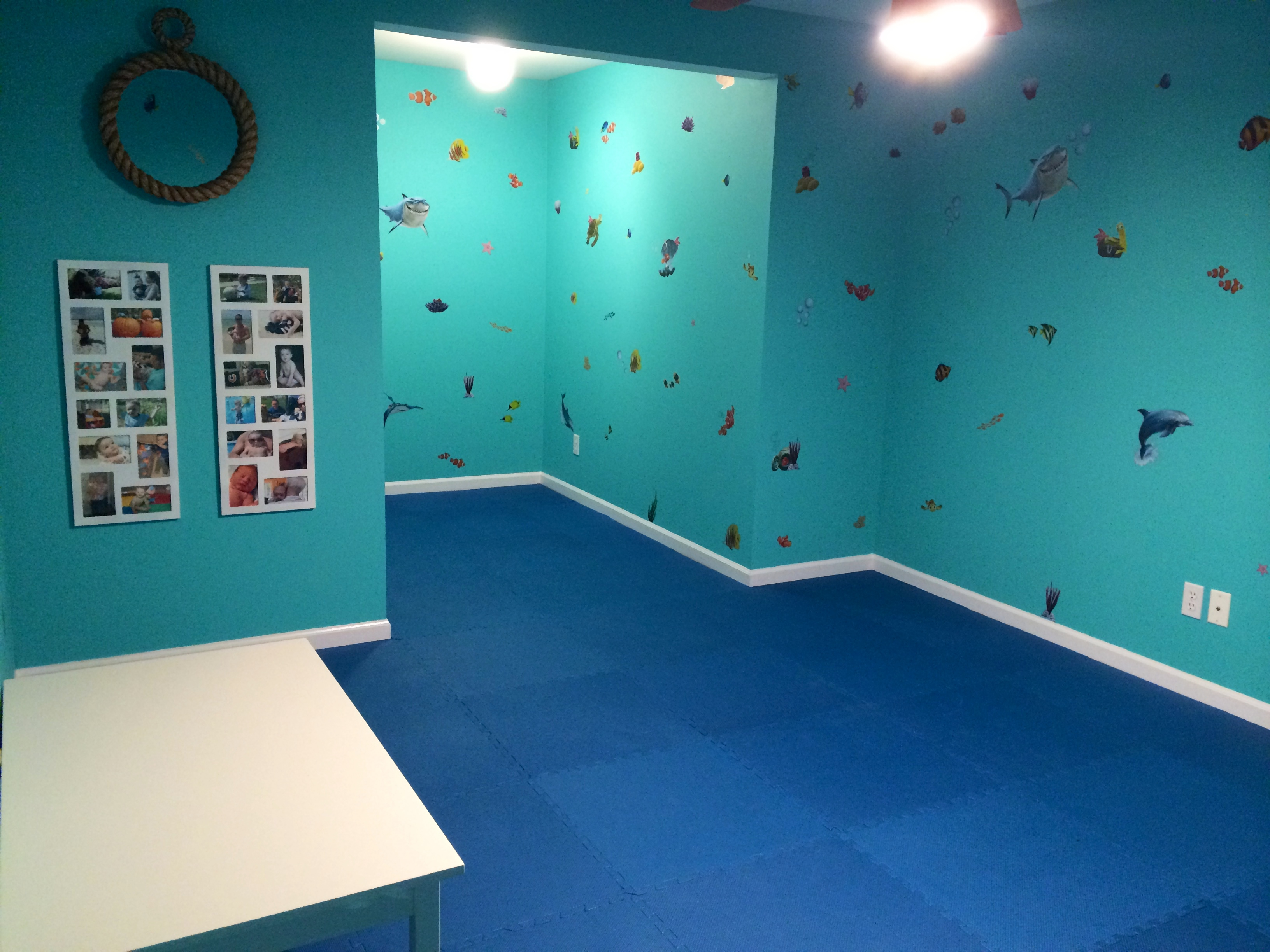 """Under the Sea"" Playroom"