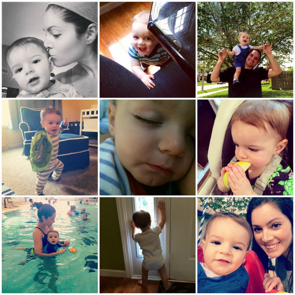Parker's 11 Month Collage