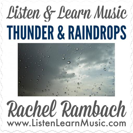 Thunder & Raindrops - Song for Rhythm Sticks