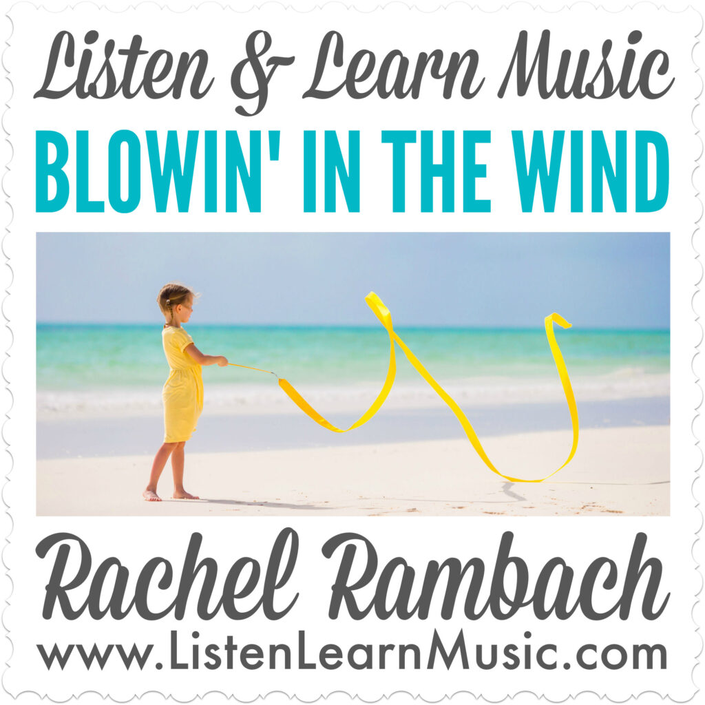 Blowin' In the Wind | Movement Song for Children