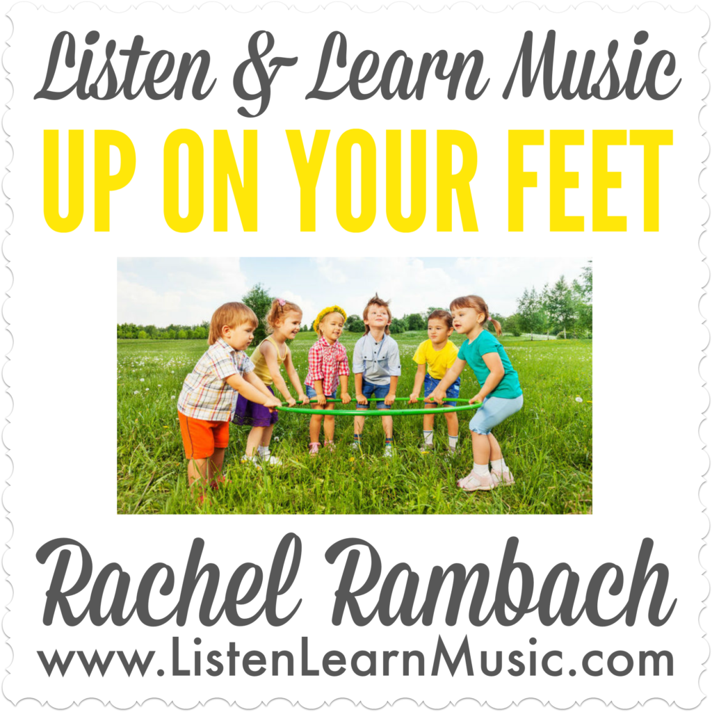Up On Your Feet | Movement Song for Children