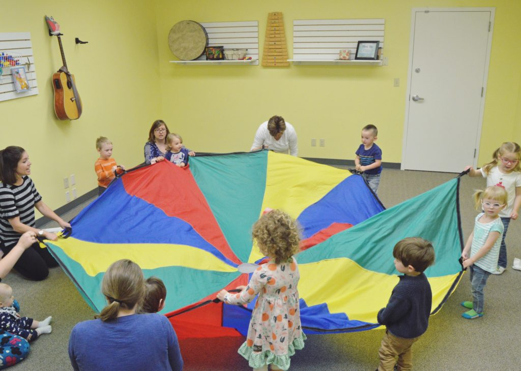 Using a Parachute in Early Childhood Music Class
