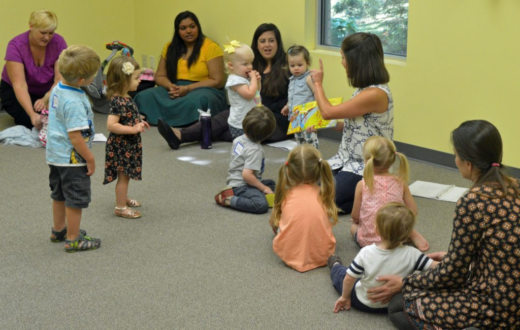 Eight Silly Monkeys in Early Childhood Music Class