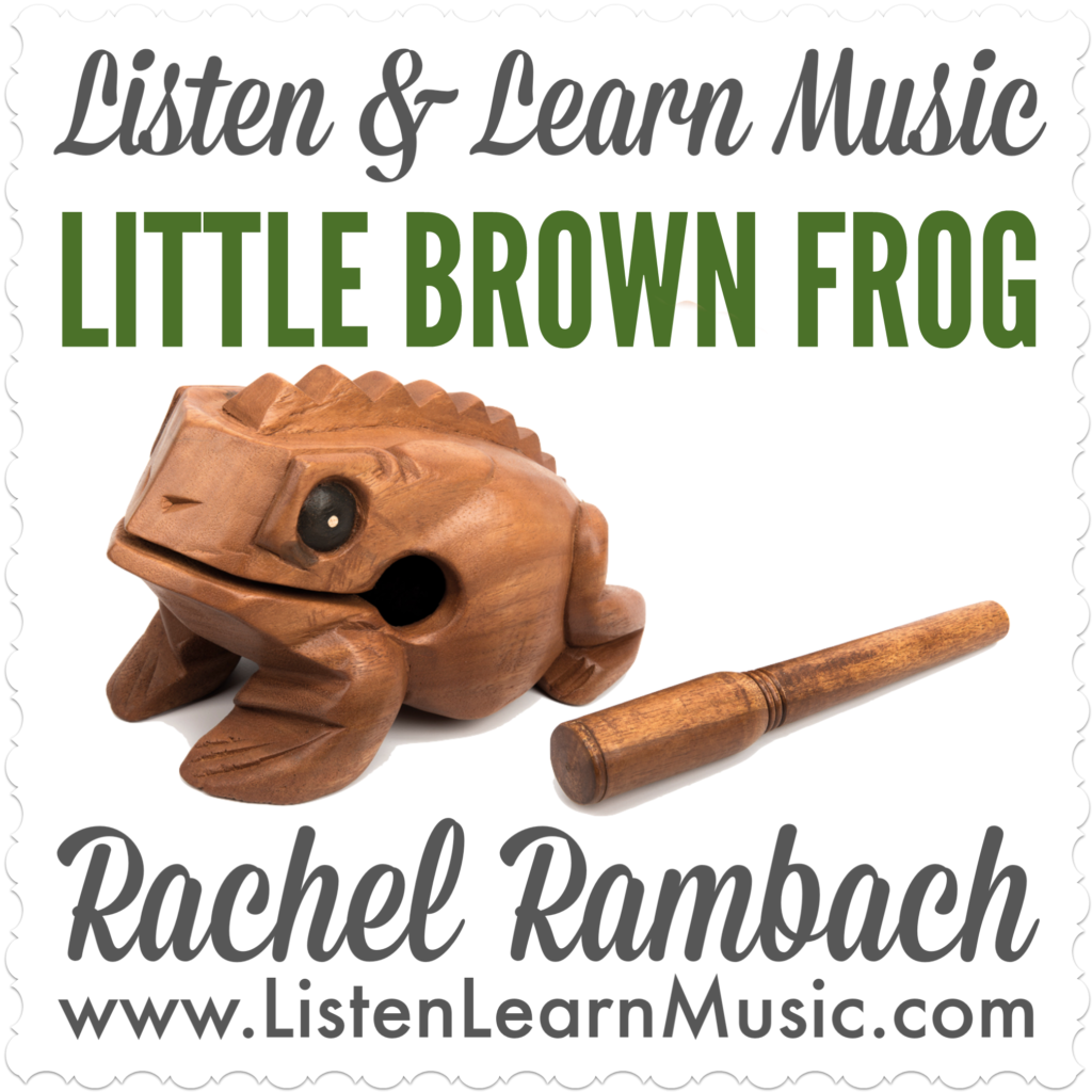 Little Brown Frog | Rhythm Sticks Song