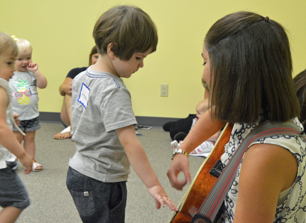 Strumming the Guitar in Early Childhood Music Class