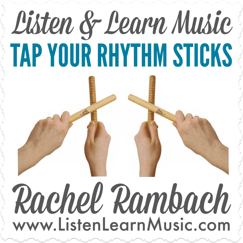 Tap Your Rhythm Sticks | Rhythm Sticks Song
