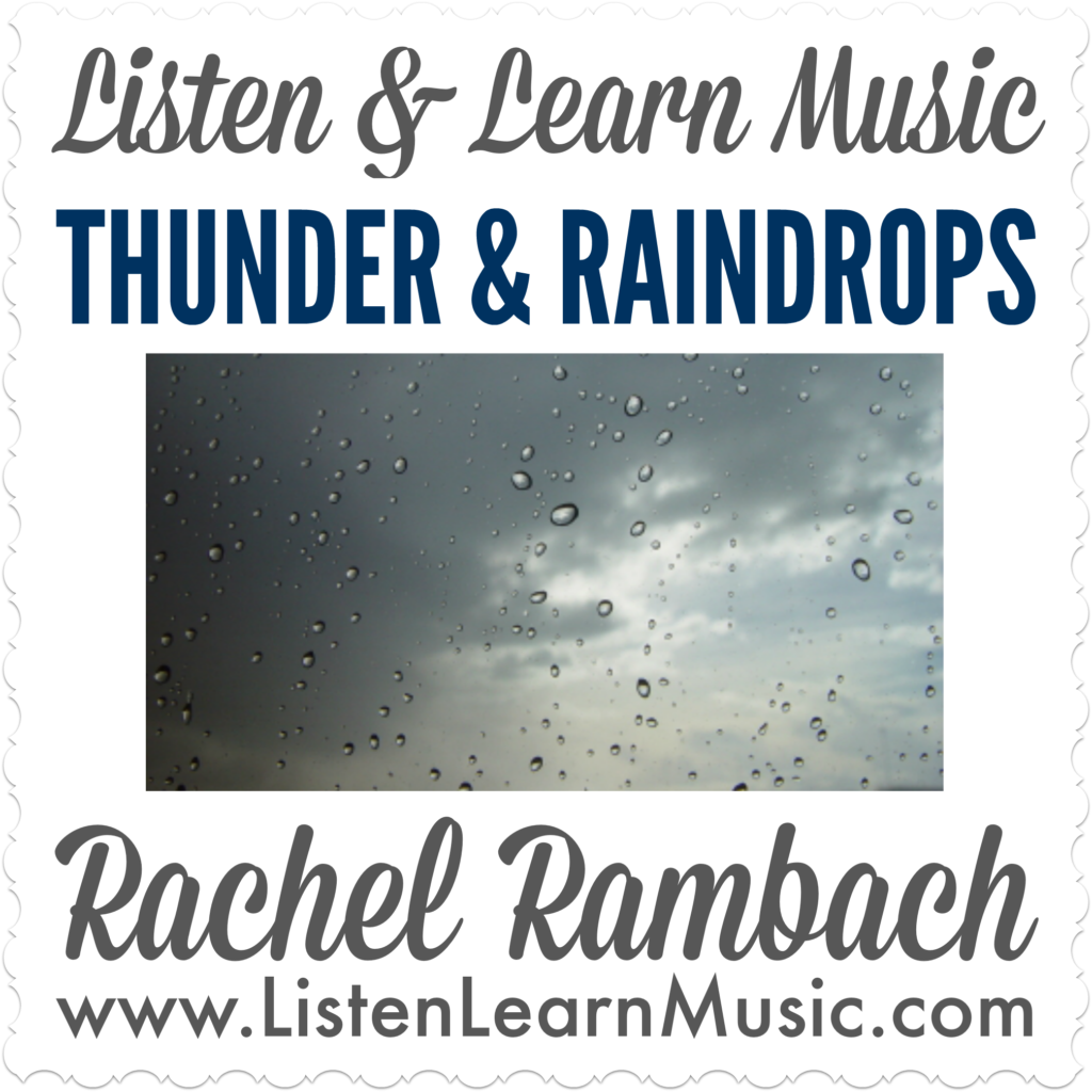 Thunder & Raindrops | Rhythm Sticks Song