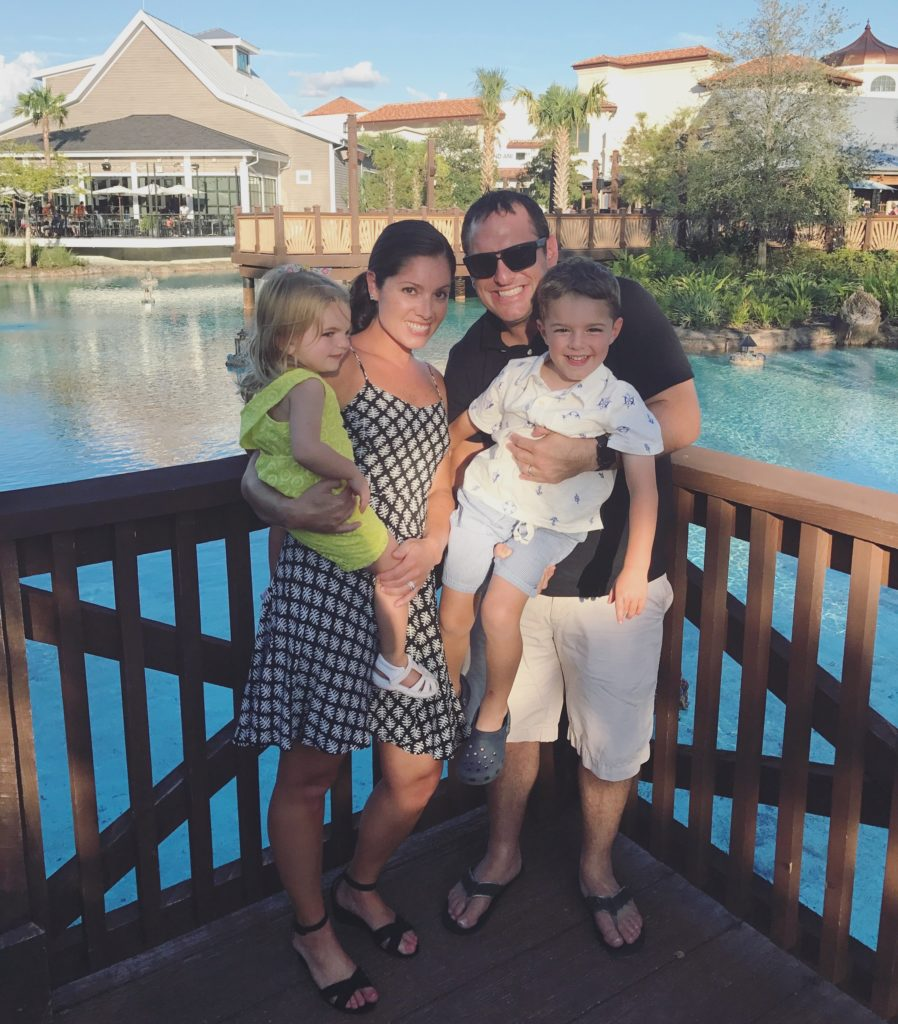 Family at Disney Springs