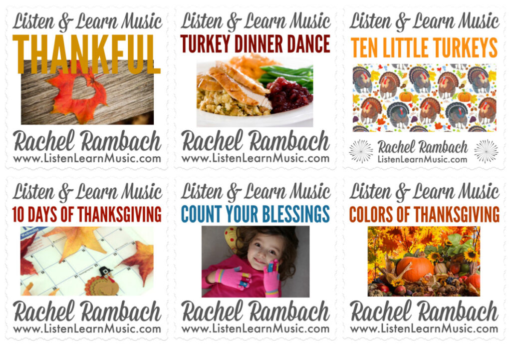 Roundup - Thanksgiving Songs for Kids Listen & Learn Music