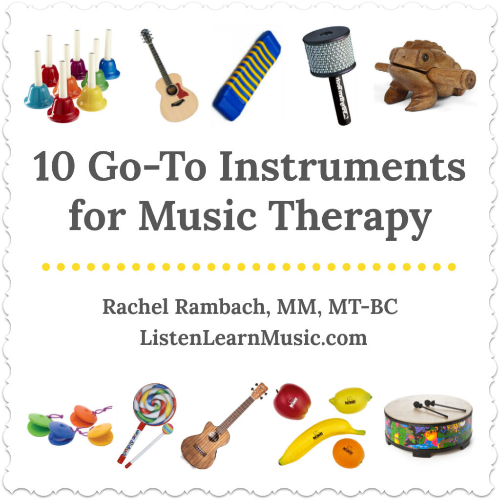 10 Go-To Instruments for Music Therapy