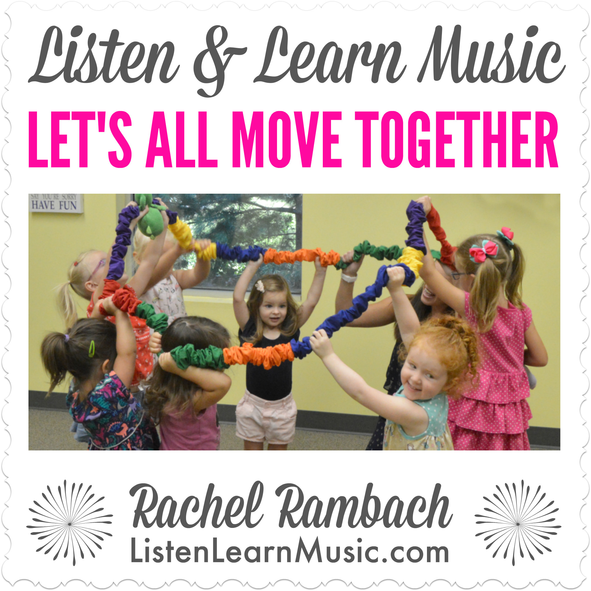 Let's All Move Together   Stretchy Band Song